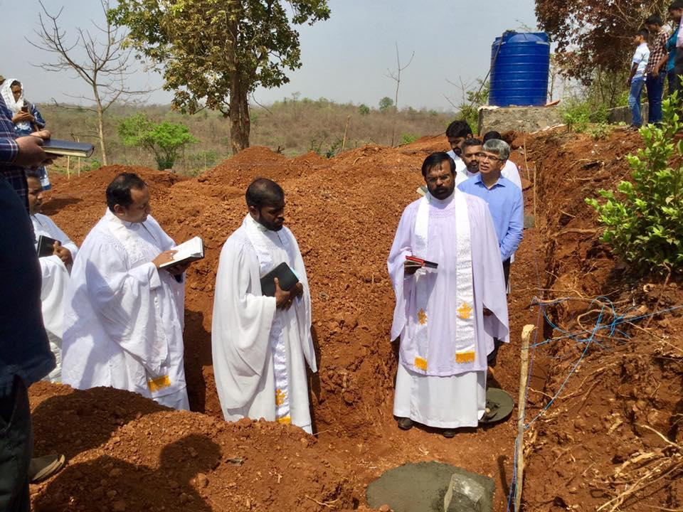 Foundation Stone Laying Ceremony of SHALOM  Mission