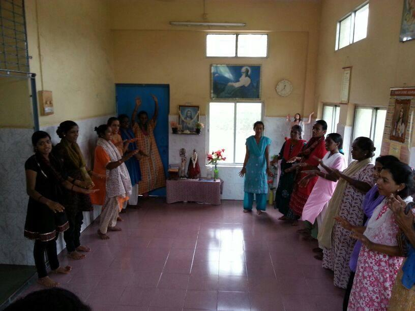 Visit to Jyothis Aids Care Center